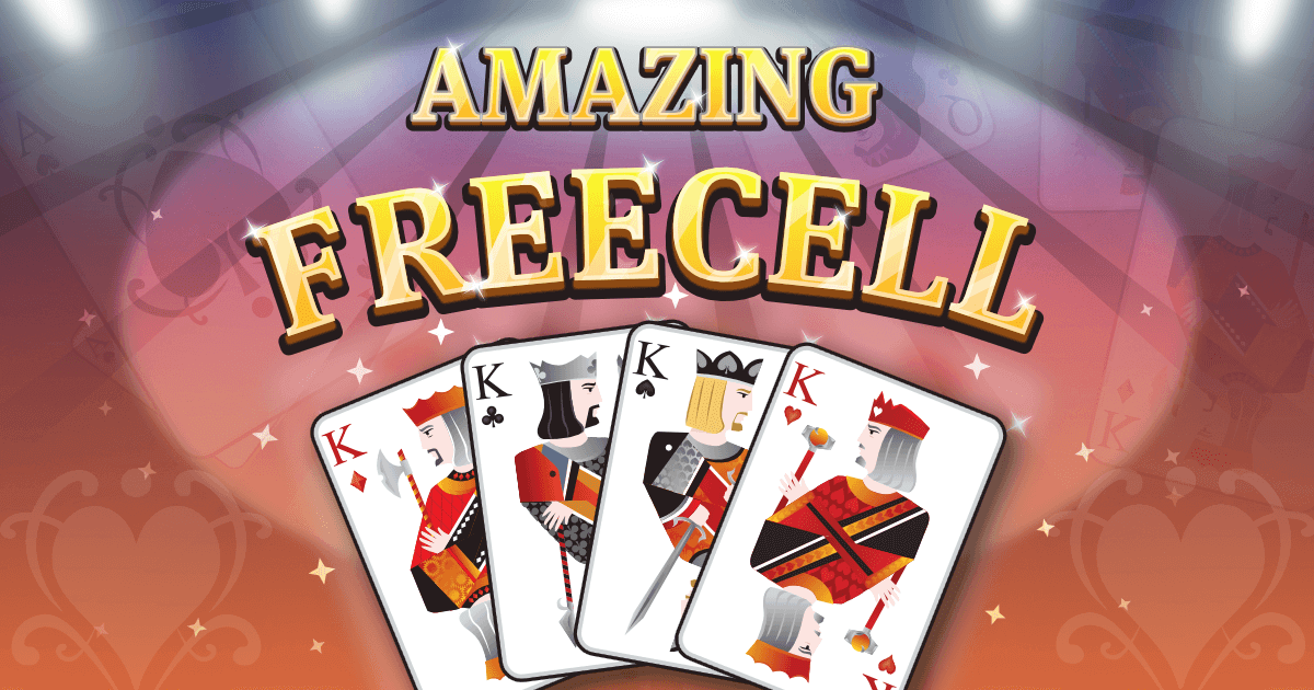 Amazing FreeCell Banner