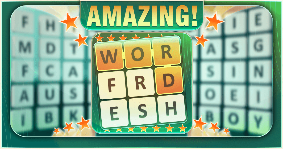 Amazing Word Fresh Banner