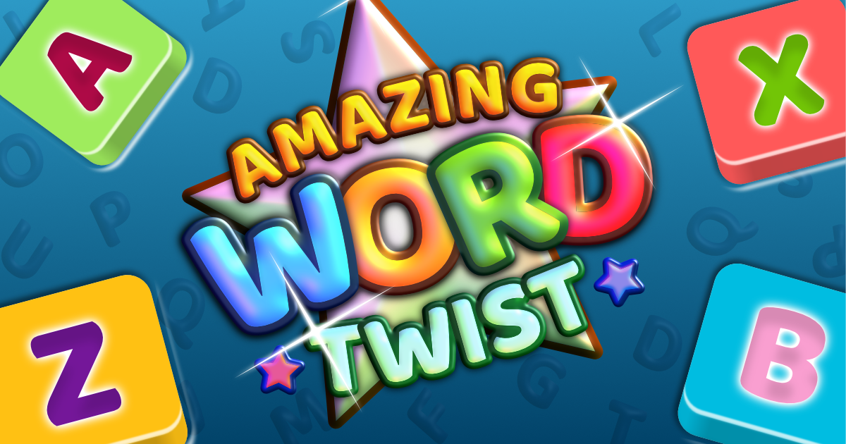 Amazing Word Twist Banner